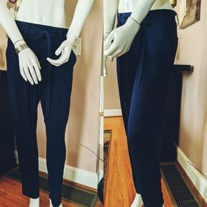 Express Blue straight leg dress slacks